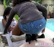 Black femdom girls and their white slave